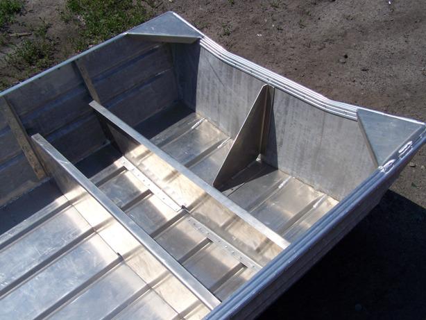 построить алюминиевую лодку