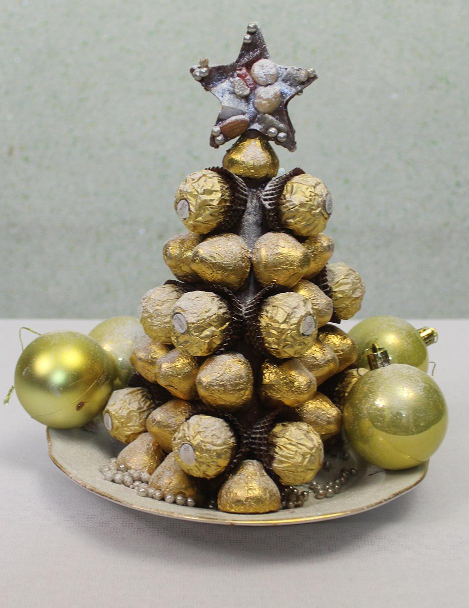 Шоколадная ёлка