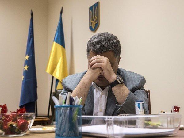 Скандал на Украине: Порошенк…