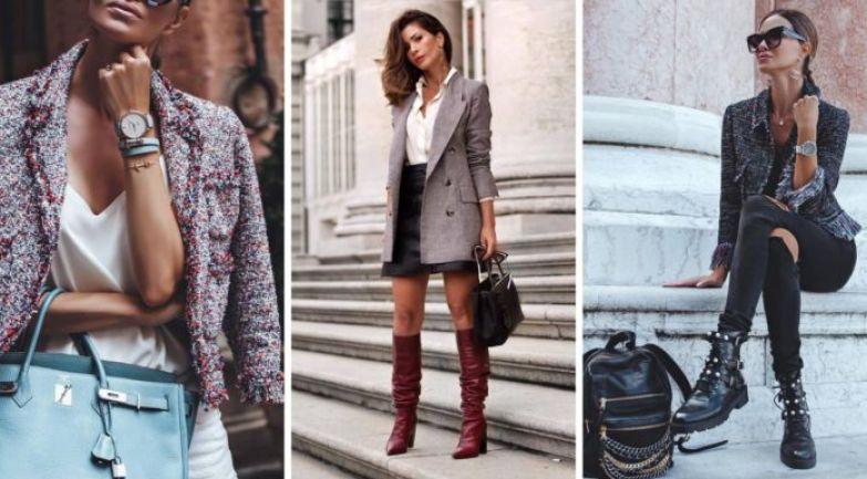 Модные пиджаки и жакеты 2018