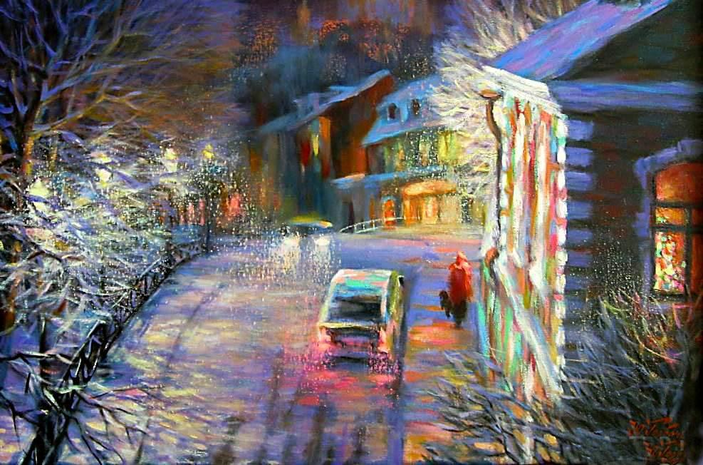 Зимние дворики