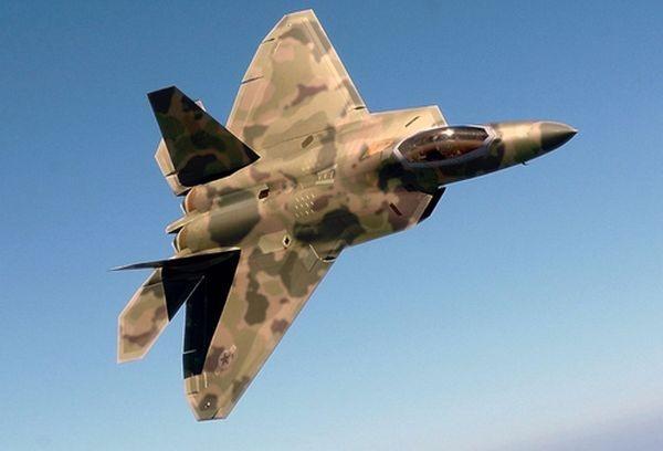 Минобороны рассказало подробности инцидента самериканским F-22 над Сирией