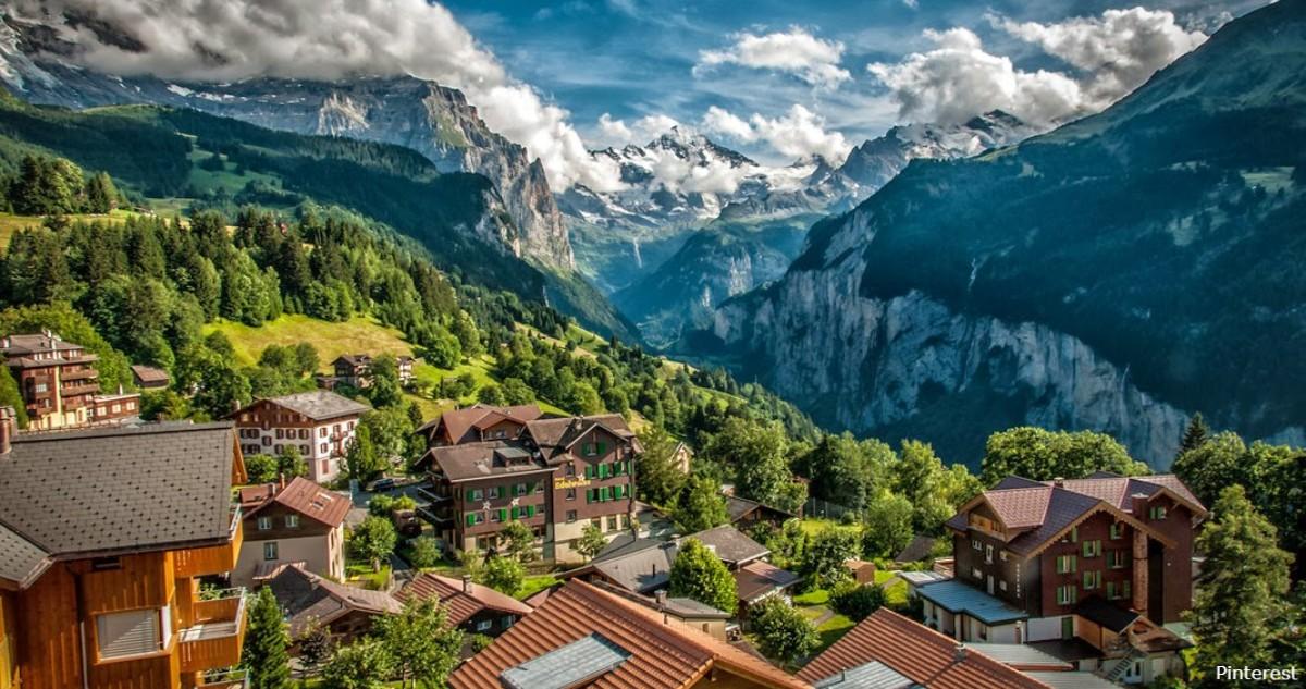 За переезд в эту деревню в Швейцарии платят $60 000. Вот что надо делать