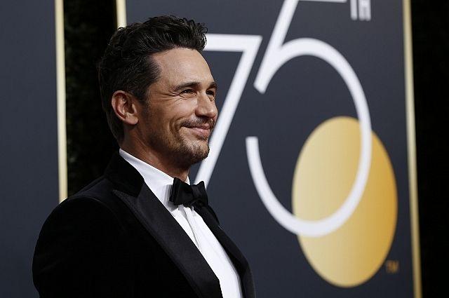 Джеймс Франко получил «Золотой глобус» за лучшую мужскую комедийную роль