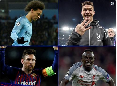 УЕФА показала претендентов на звание лучшего игрока недели ЛЧ