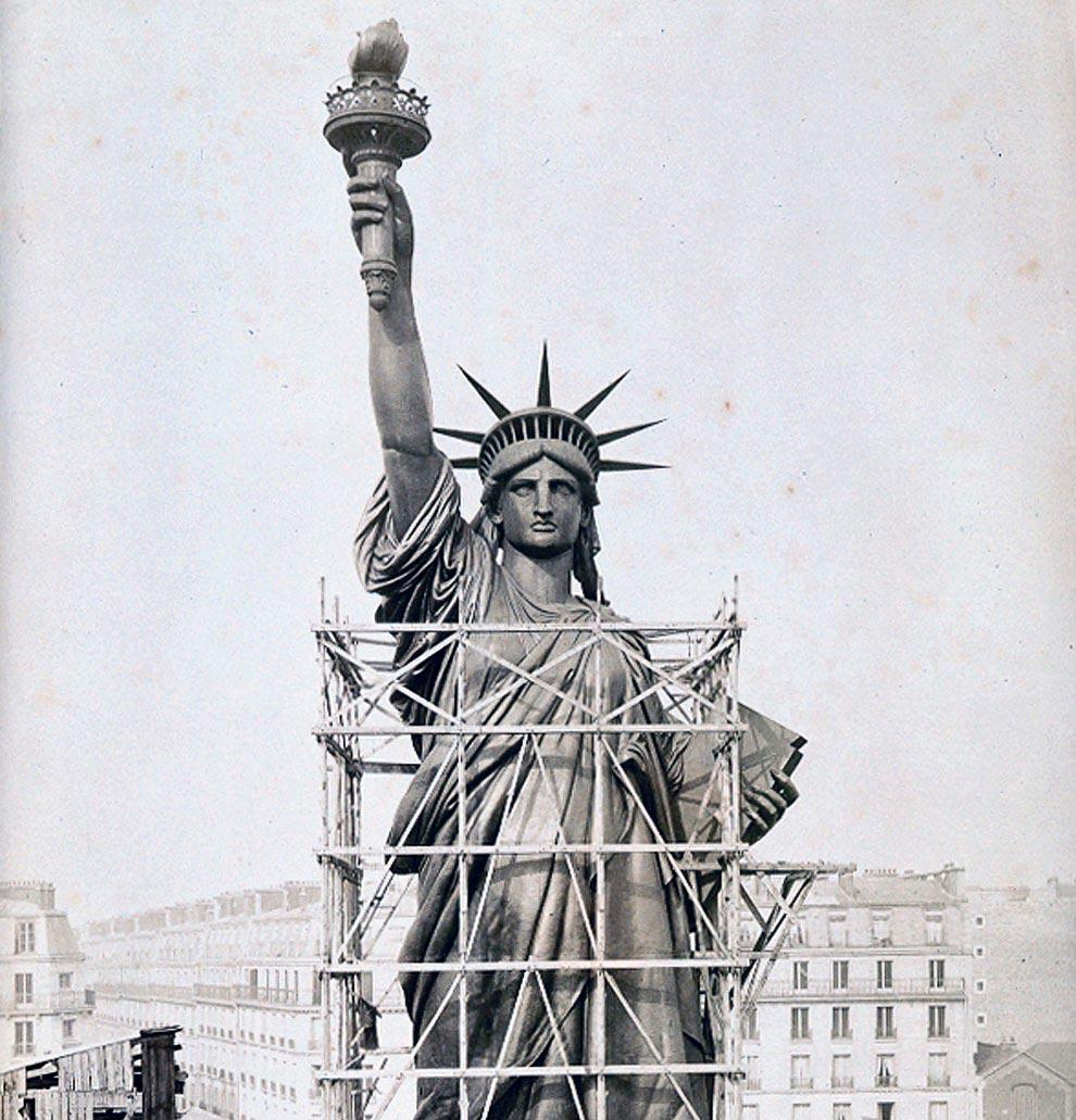 Статуя Свободы сделана изру…