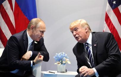 """Трамп рассказал о """"замечательном"""" разговоре с Путиным"""