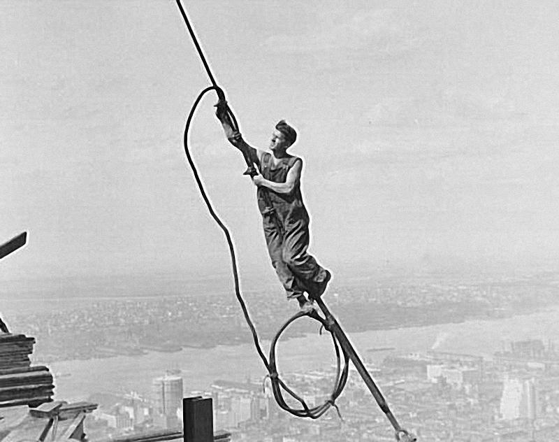 0205 Как строились небоскребы в Нью Йорке