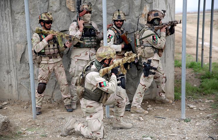 Афганистан просит у России помощь для армии и полиции