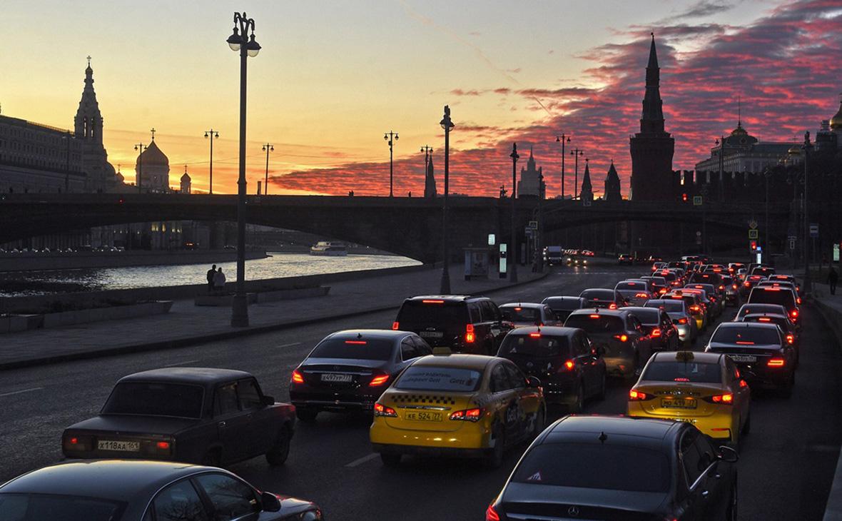 Пробки в центре Москвы назвали худшими за пять лет