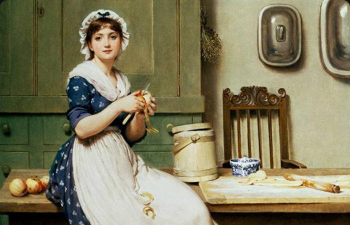 Какие профессии выбирали женщины лет этак 150 назад, и чем они чаще всего болели
