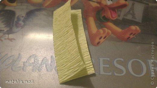 Мастер-класс Свит-дизайн МК по изготовлению лилии Бумага гофрированная фото 3