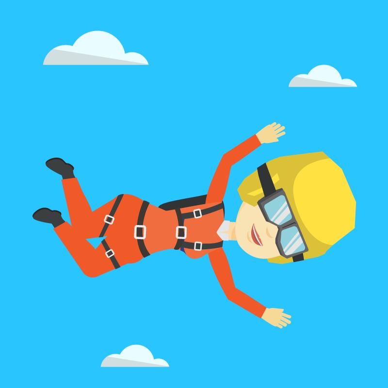 Анекдот про то, как директор парашютной школы учил молодого инструктора