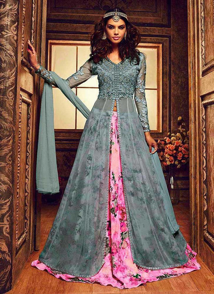Красивые платья в индийском стиле — достойные богинь, фото № 5