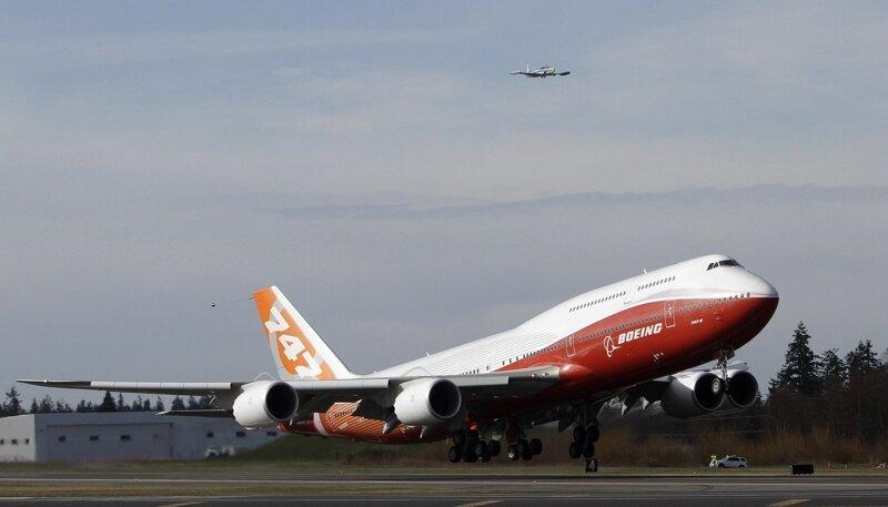 Boeing 747-8 Intercontinental  боинг 747, история создания, технологии