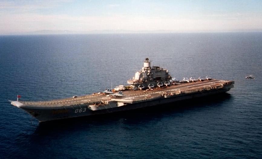 Эксперт объяснил, для чего необходима модернизация авианосца «Адмирал Кузнецов»