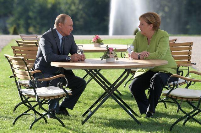Сенатор назвал переговоры Путина и Меркель событием мирового масштаба