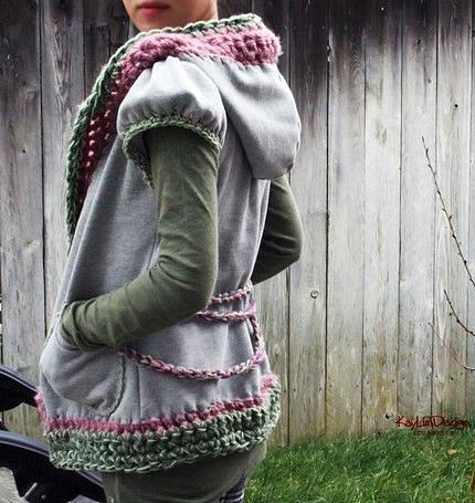 Необычная вязанная одежда