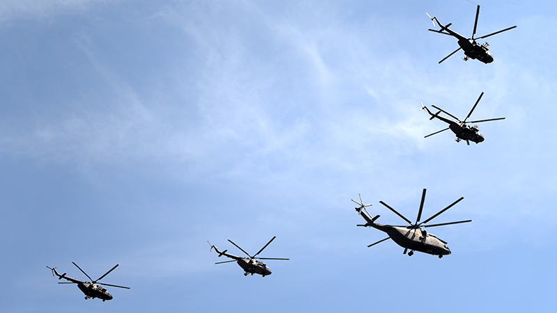 В Минтрансе задумались о переводе вертолетов на природный газ