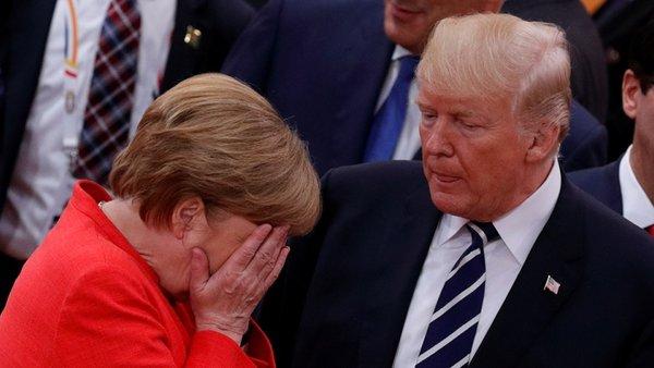 Меркель призвала Европу к независимости от США