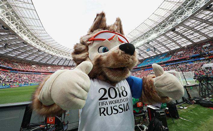 Yle, Финляндия. Никто тут не боится русского волка? Символ ЧМ — обаятельный и общительный, но коварный друг