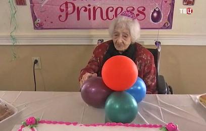 Старейшая жительница США отметила 112-летие