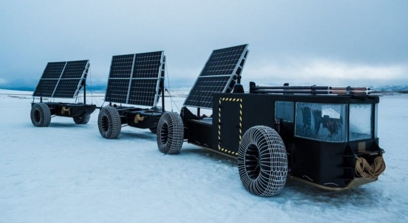 Багги Solar Voyager отправится к Южному полюсу на солнечной энергии