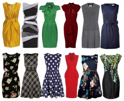 Юбки и платья: фасоны, силуэты, разновидности (Ч. 1)