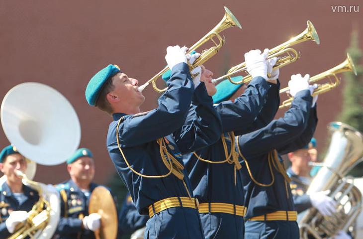 Празднование Дня Воздушно-десантных войск на Красной площади