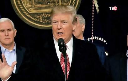 Трамп будет баллотироваться на второй срок в 2020 году