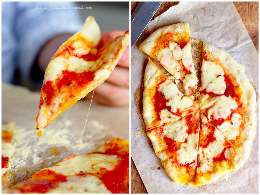 Как сделать пиццу маргариту рецепт