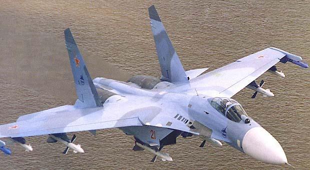 Кити Хок и Су-27. Условное уничтожение:-)