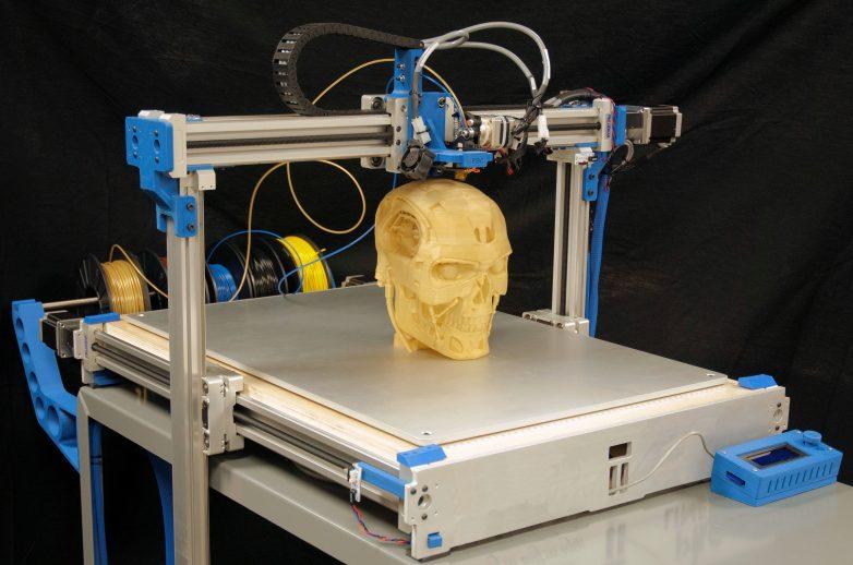 В Китае научились печатать кости
