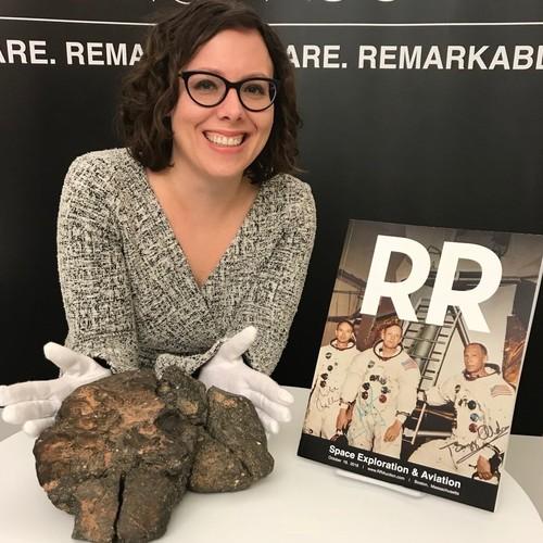 Уникальный лунный метеорит продан на аукционе в США
