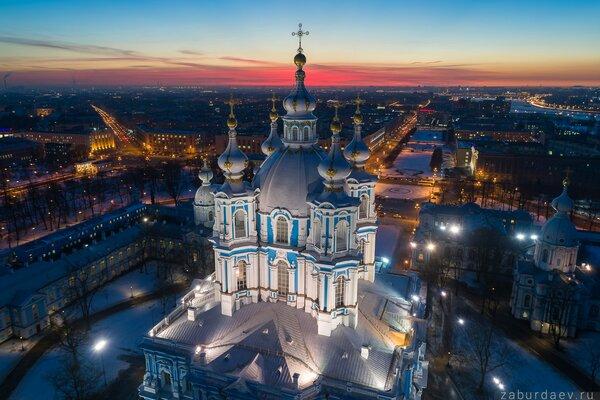 Собор Смольного монастыря. Фото с сайта photosight.ru