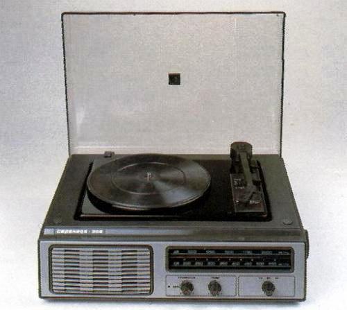 Электроника начала 80-х.