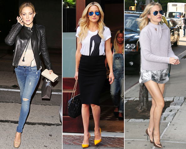 InStyle July Cover Girl Kate Hudson's Best Street Style Looks of 2014 (So Far)