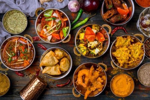 Фестиваль индийской кухни.