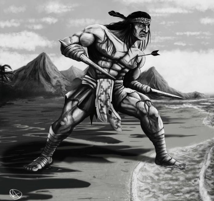 Гальварино — безрукий воин из народа мапучу