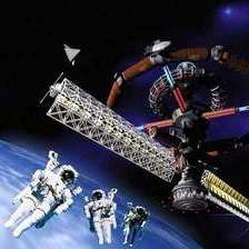Опорная база на околоземной орбите.