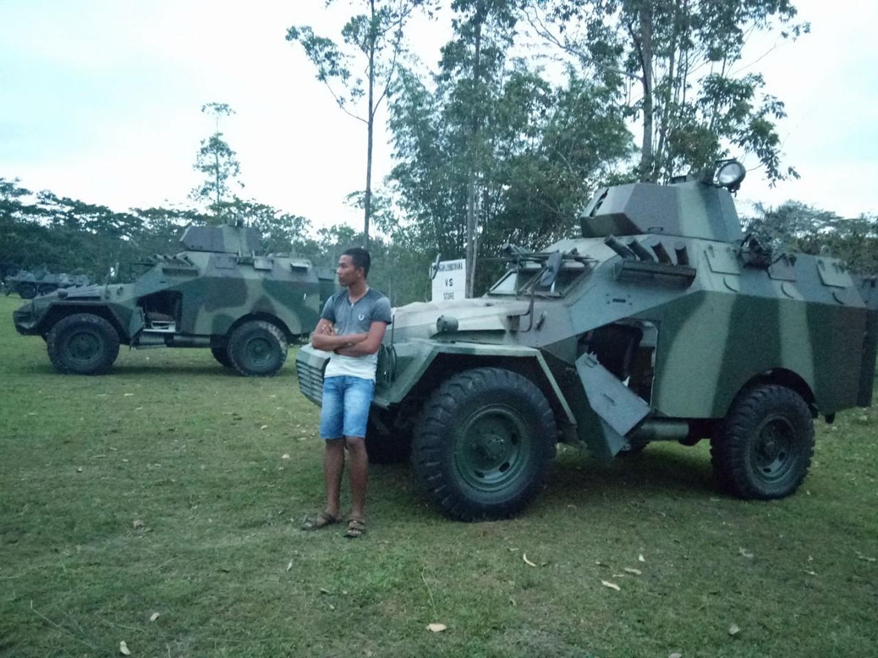 БТР-40 остаются на службе в Индонезии