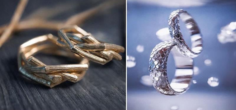 Российские ювелиры делают обручальные кольца со смыслом, который будет понятен только вам двоим