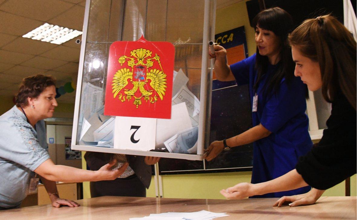 ЦИК объяснил смену лидера на выборах в Приморье