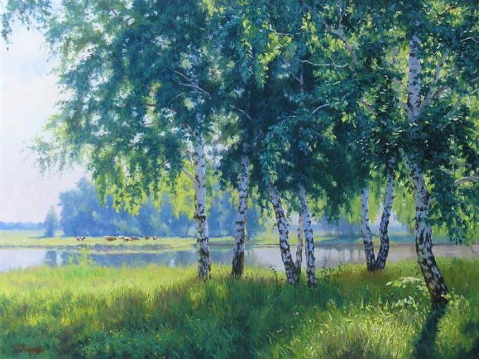 пейзажи художник Кириченко Геннадий-03