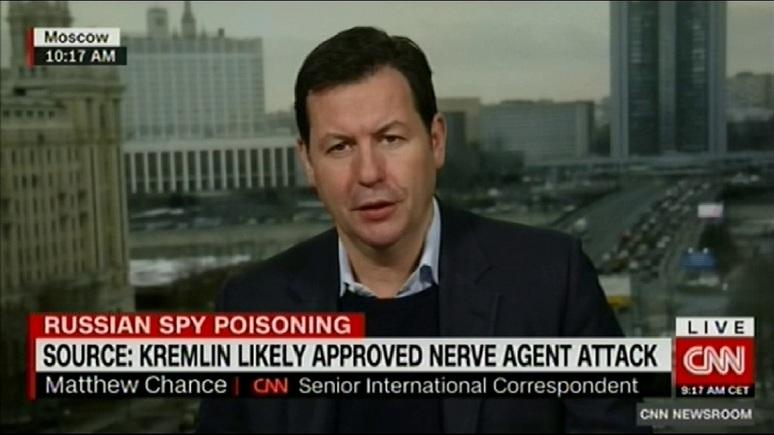 CNN: Великобритания заявила об улике, напрямую указывающей на Кремль в деле Скрипалей