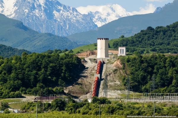 «РусГидро» построит наСеверном Кавказе новую ГЭС