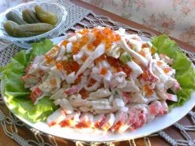 Салат «Морская Фантазия» — королевское угощение!