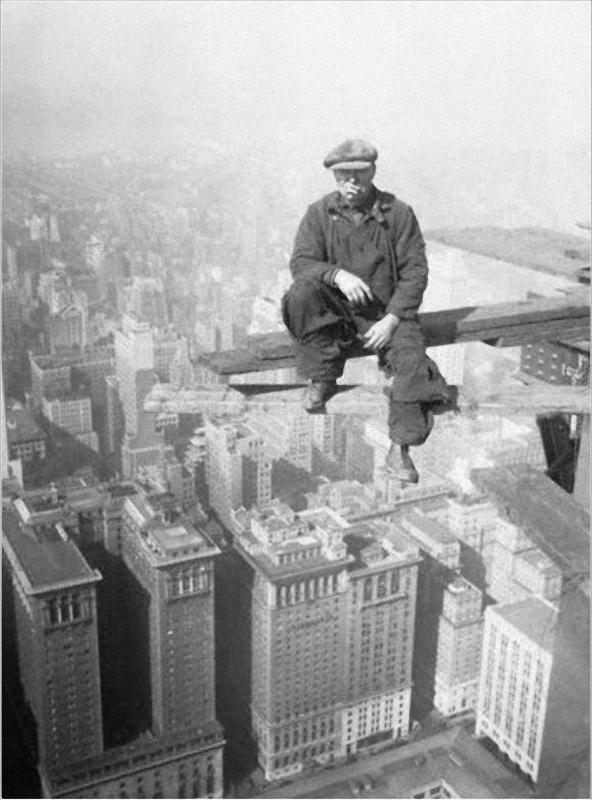 0284 Как строились небоскребы в Нью Йорке
