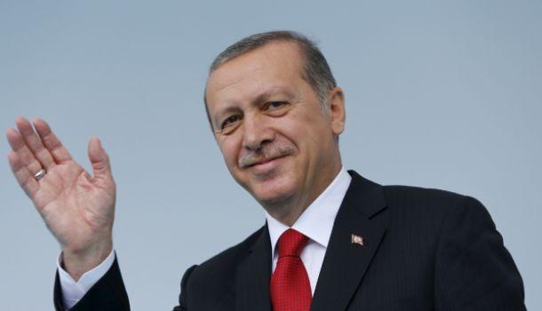 Эрдоган вышел из зала Генасс…