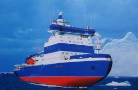 В течение трех лет в строй введут три арктических ледокола